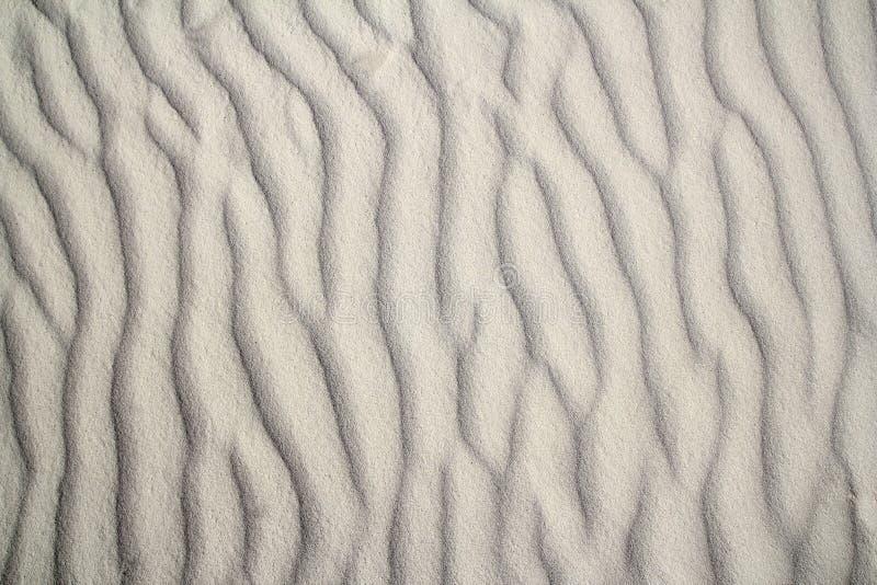 背景加勒比沙漠模式沙波 库存图片