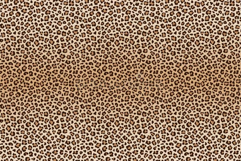 背景动物豹子纹理 向量 皇族释放例证