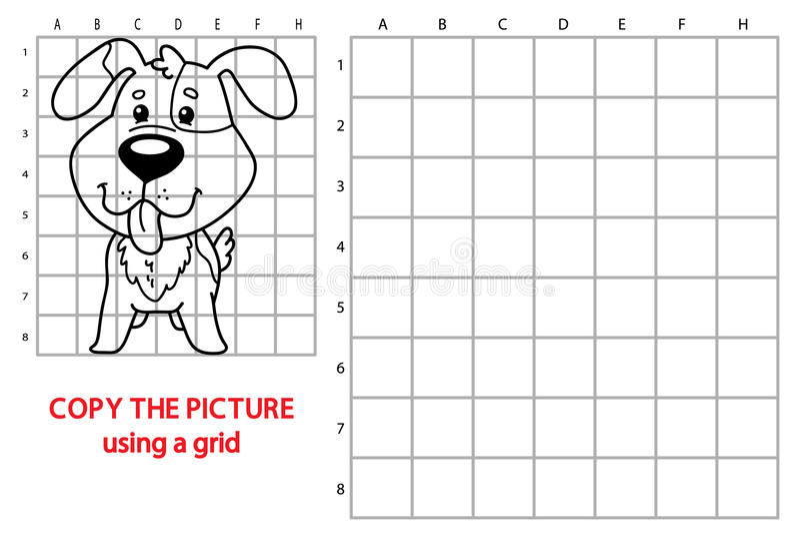 背景动画片设计狗例证 向量例证