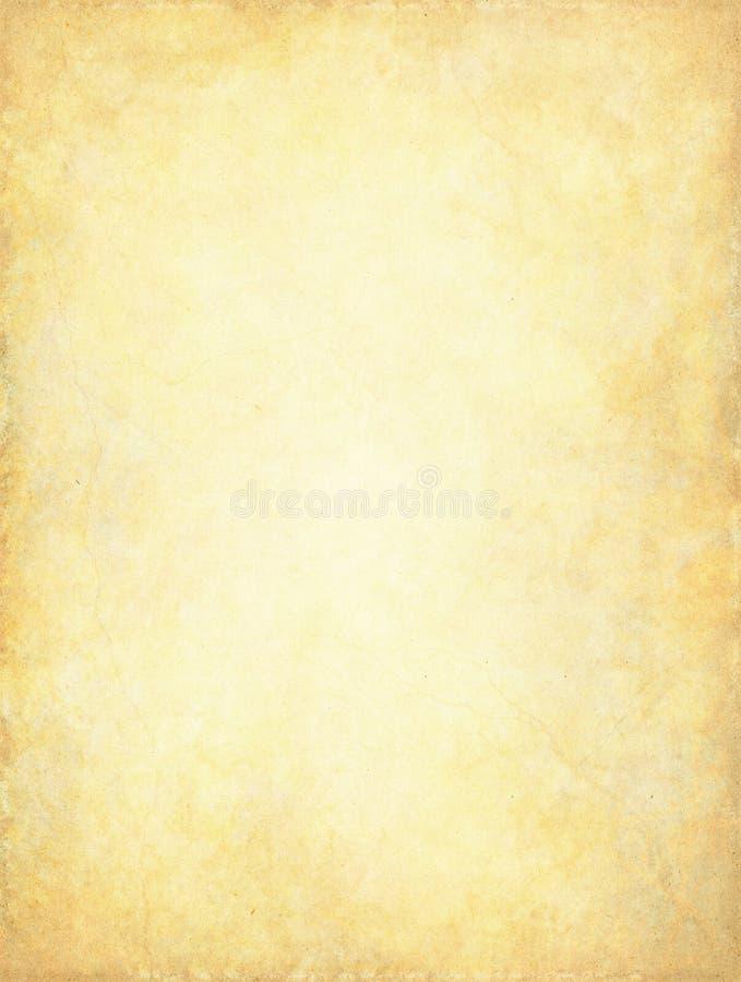 背景发光的grunge纸张 向量例证