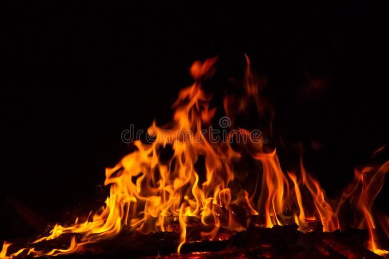 背景发火焰美妙的墙壁 免版税图库摄影
