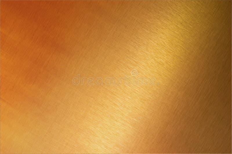 背景古铜色铜金属 免版税库存照片