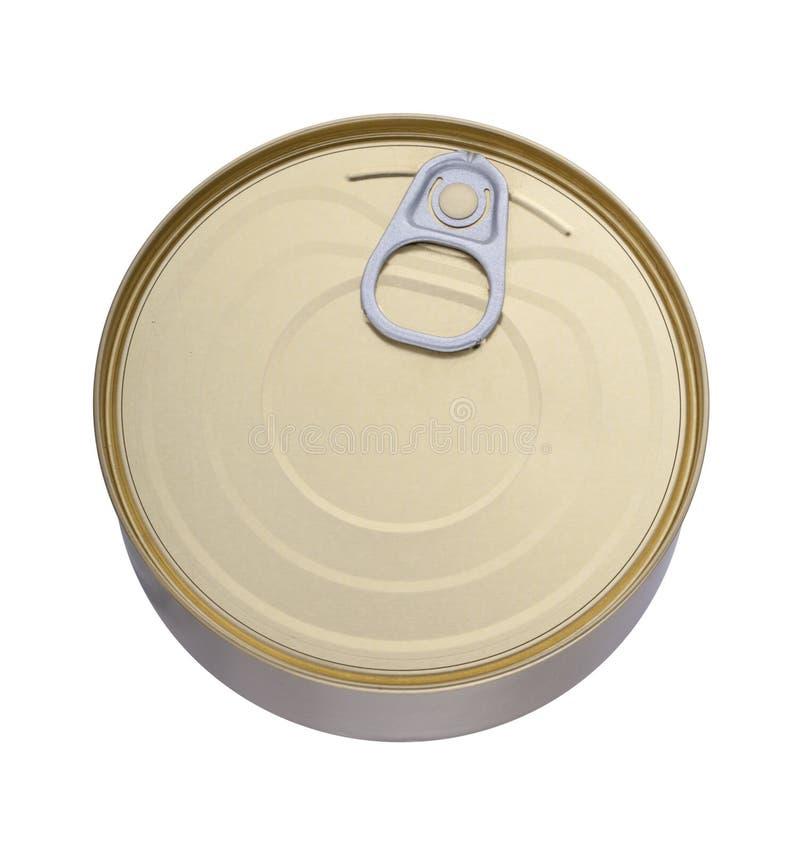 背景可能标记罐子商标白色 免版税库存照片