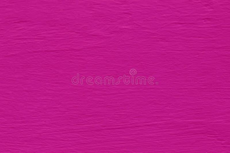 背景和设计书刊上的图片的桃红色水泥墙壁纹理 库存照片