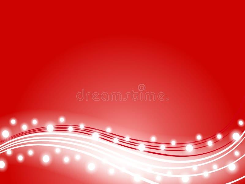 Download 背景圣诞灯红色swoosh 库存例证. 插画 包括有 照明设备, 欢乐, 唯一, 装饰, xmas, swooshes - 3655615
