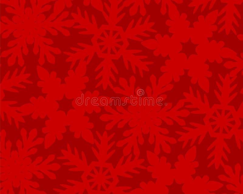 背景圣诞灯魔术红色 库存例证