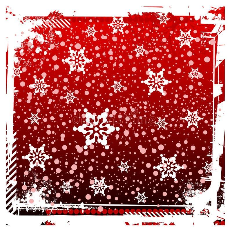 背景圣诞节新的红色s年 库存例证