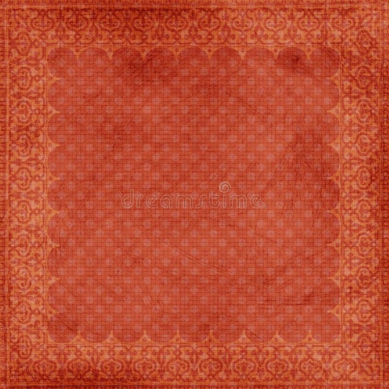 背景圣诞节框架脏的红色 免版税库存照片