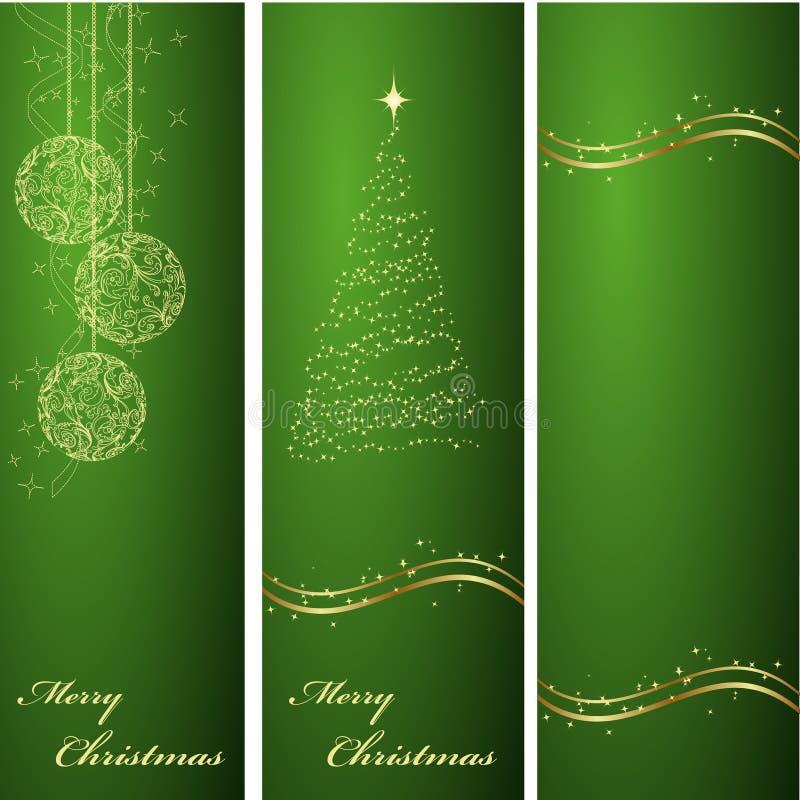 背景圣诞节绿色垂直 图库摄影