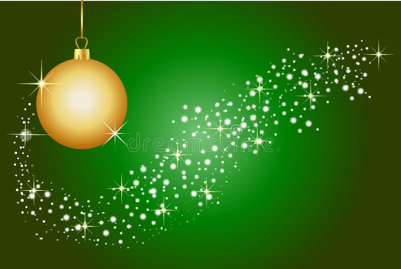 背景圣诞节绿色 库存图片