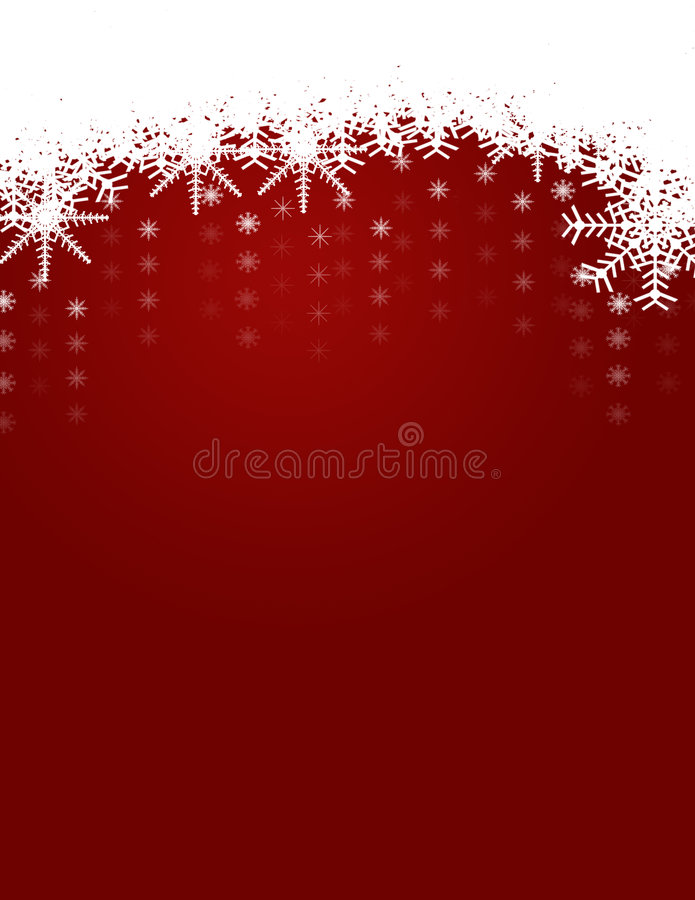 背景圣诞节雪花冬天 皇族释放例证