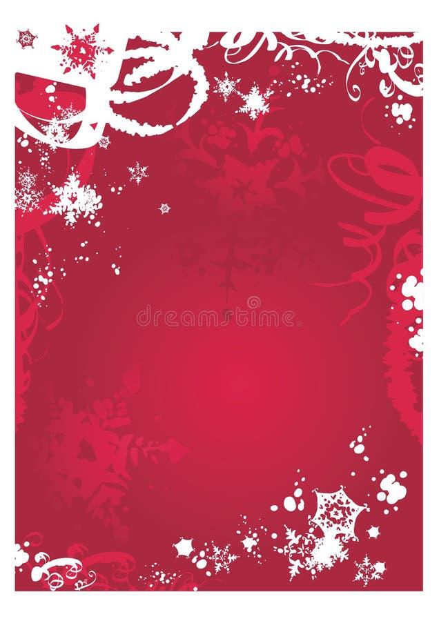 背景圣诞节 库存例证