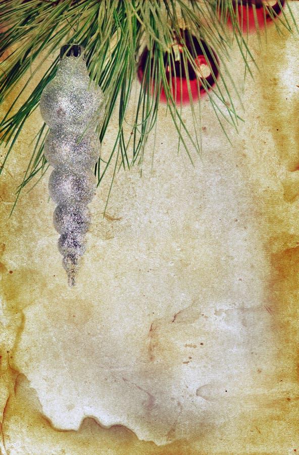 背景圣诞节grunge装饰品 向量例证