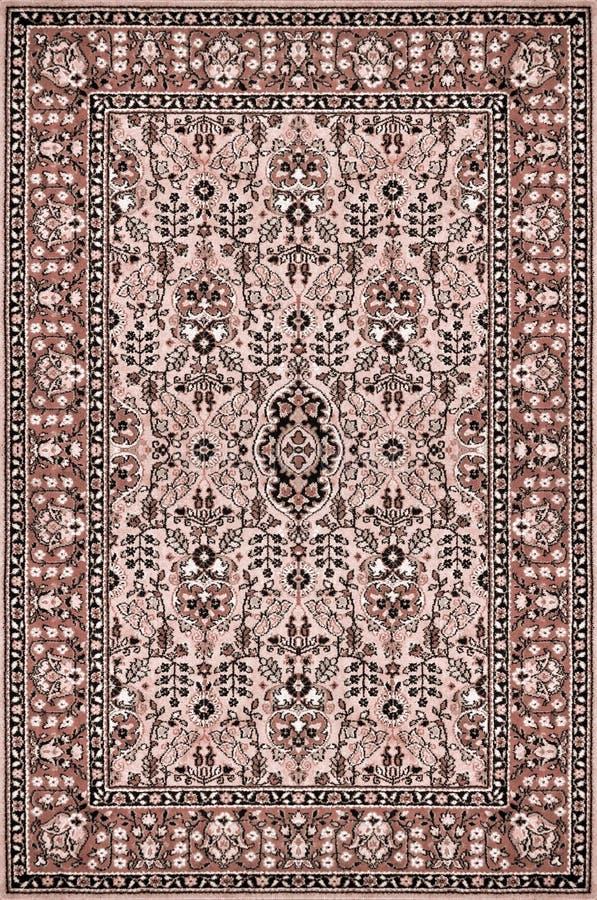 背景地毯东方纹理向量 免版税库存图片