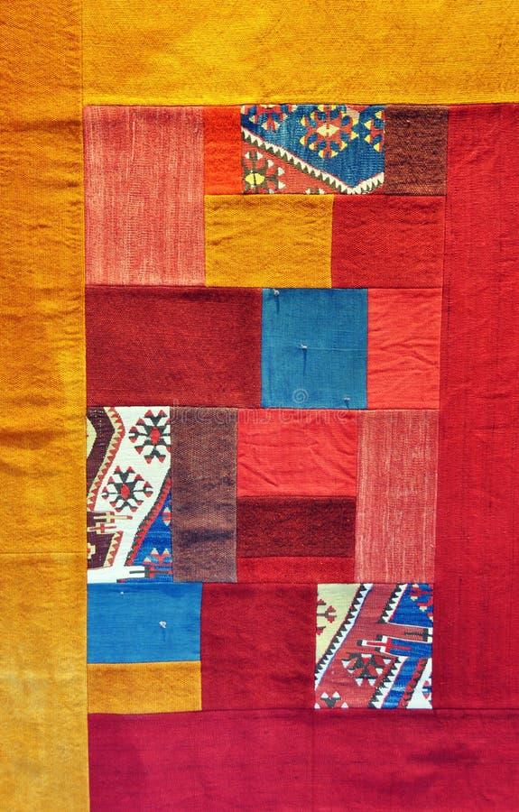 背景地毯土耳其 免版税库存照片