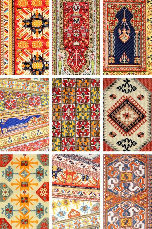 背景地毯 库存图片