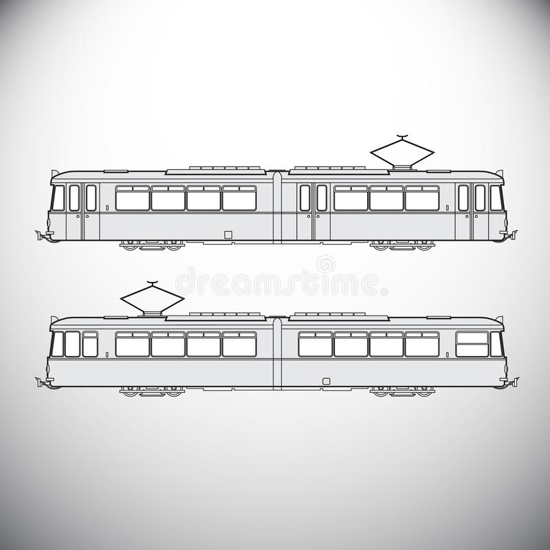 背景地球高铁路速度培训运输 库存例证