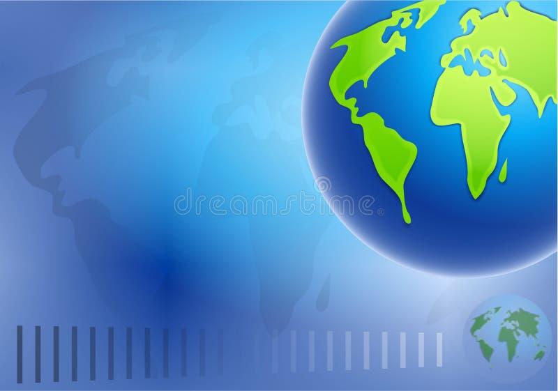 背景地球 免版税图库摄影