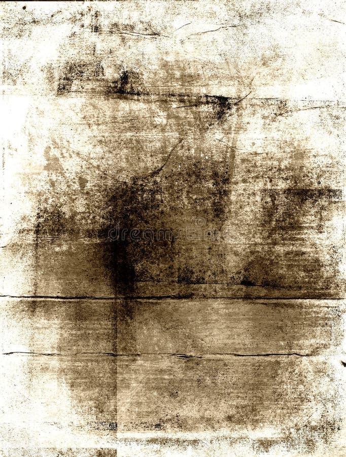 背景坏的grunge纸张 向量例证