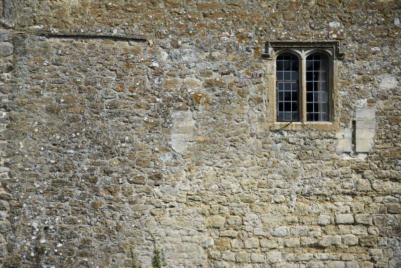 背景城堡利兹墙壁 图库摄影