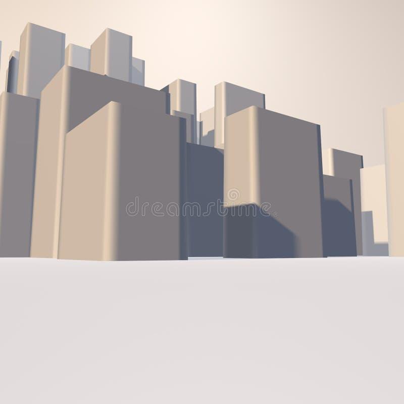背景城市 免版税库存照片