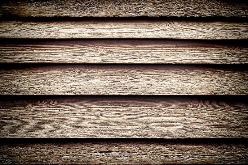背景墙板困厄的grunge老木头 库存照片