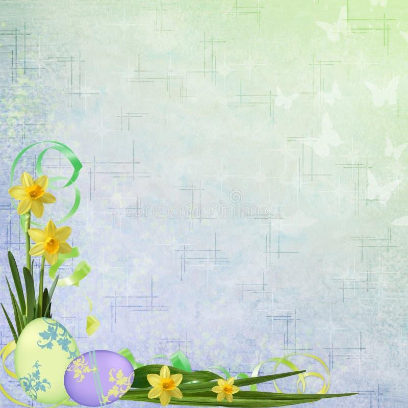 背景复活节春天 皇族释放例证