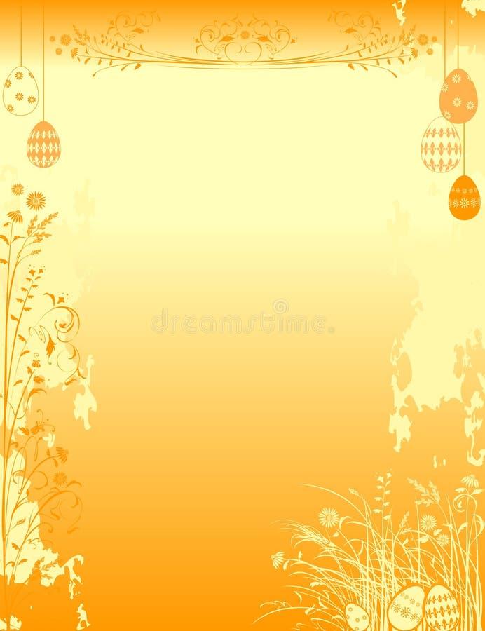 背景复活节装饰物