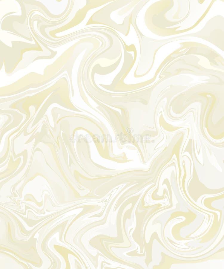 背景大理石白米黄口气 也corel凹道例证向量 向量例证