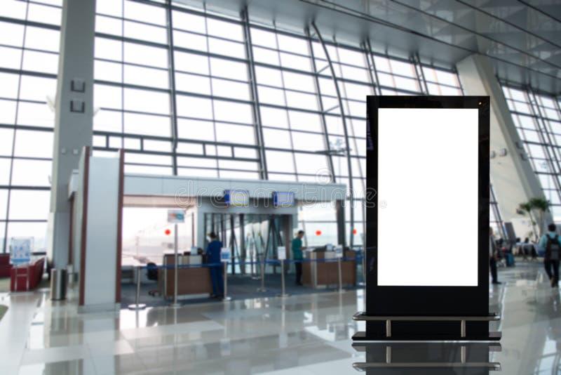 背景大LCD广告 免版税图库摄影