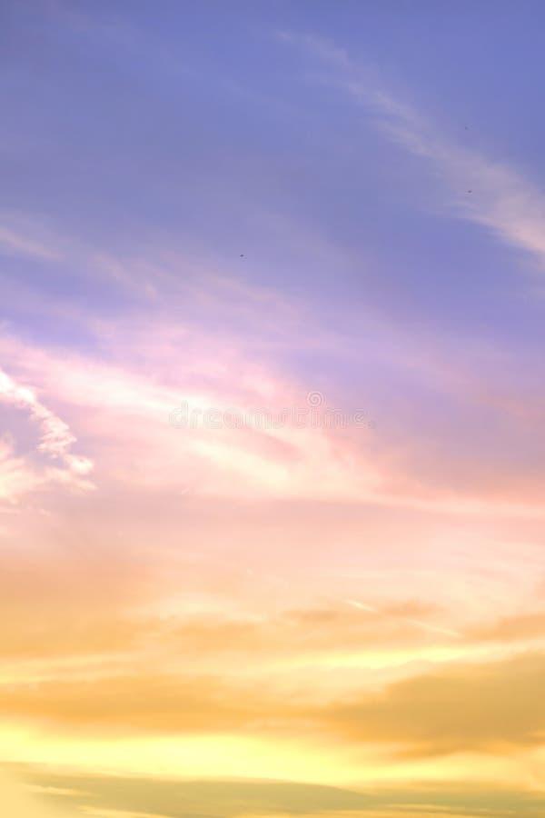 背景天空 库存照片
