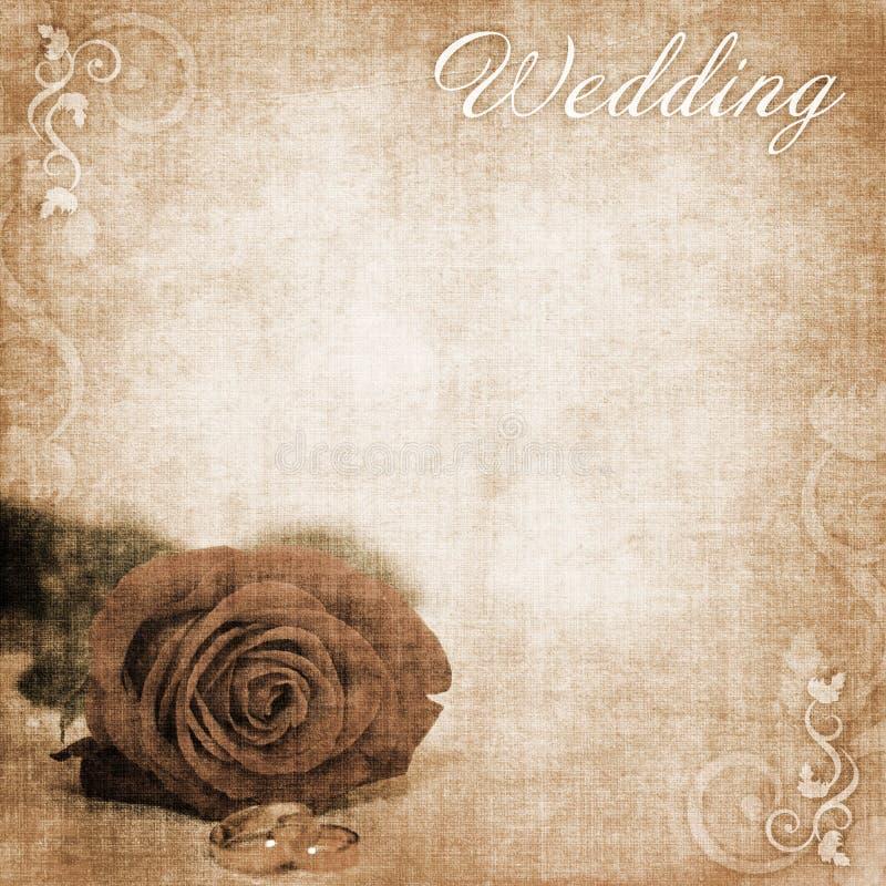 背景婚礼 库存例证
