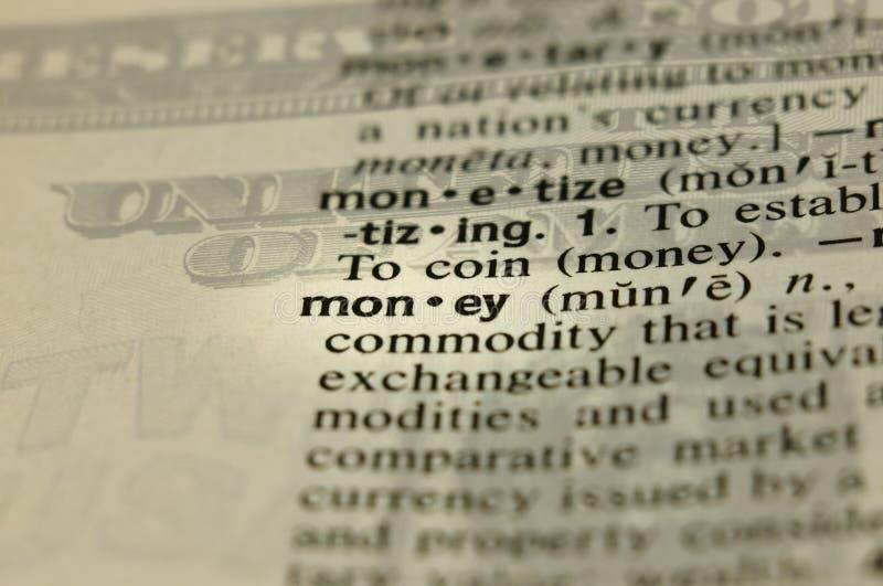 背景定义强加的货币 库存图片