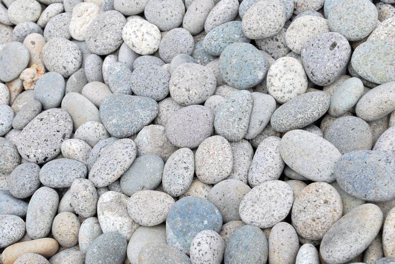 背景小卵石石头 免版税库存照片
