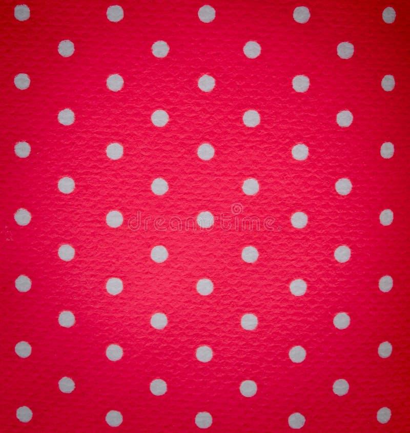 背景小点粉红色白色 库存照片