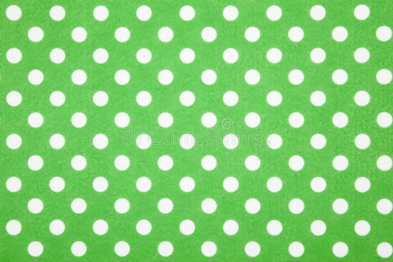 背景小点绿色短上衣 免版税图库摄影