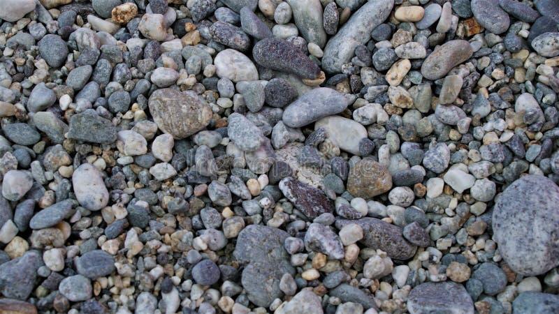 背景小的石头 库存照片