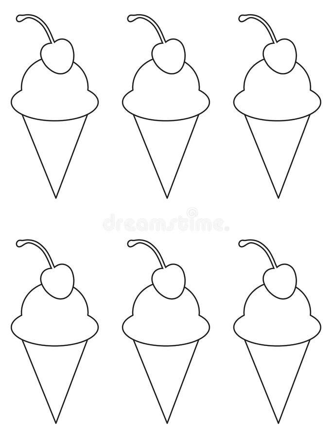 背景巧克力锥体提取乳脂在开心果草莓香草白色的冰冰淇凌.图片