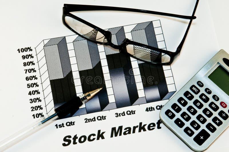 背景市场股票 库存照片