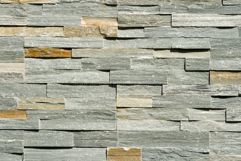 背景平面的被堆积的石墙 库存照片