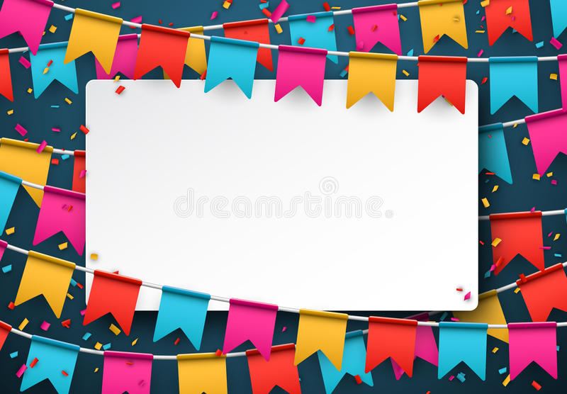 背景庆祝五彩纸屑快乐的墙纸 库存例证