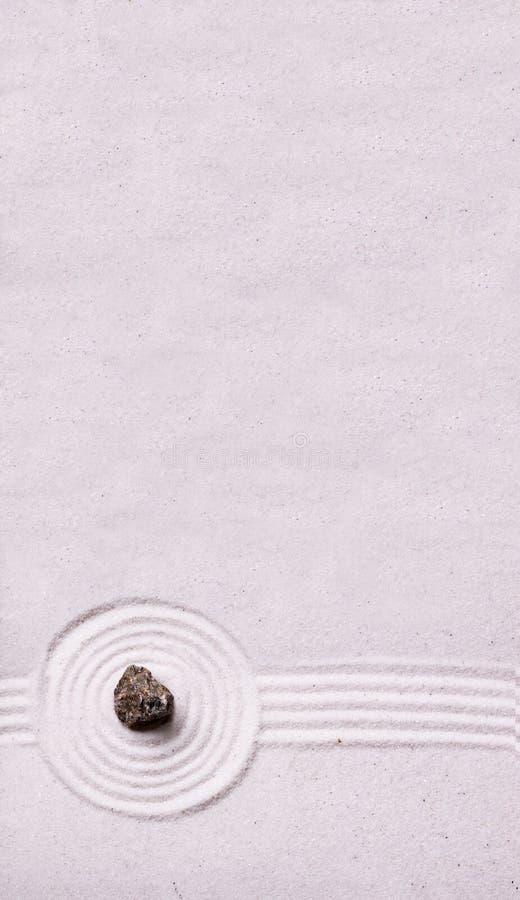背景庭院岩石禅宗 图库摄影