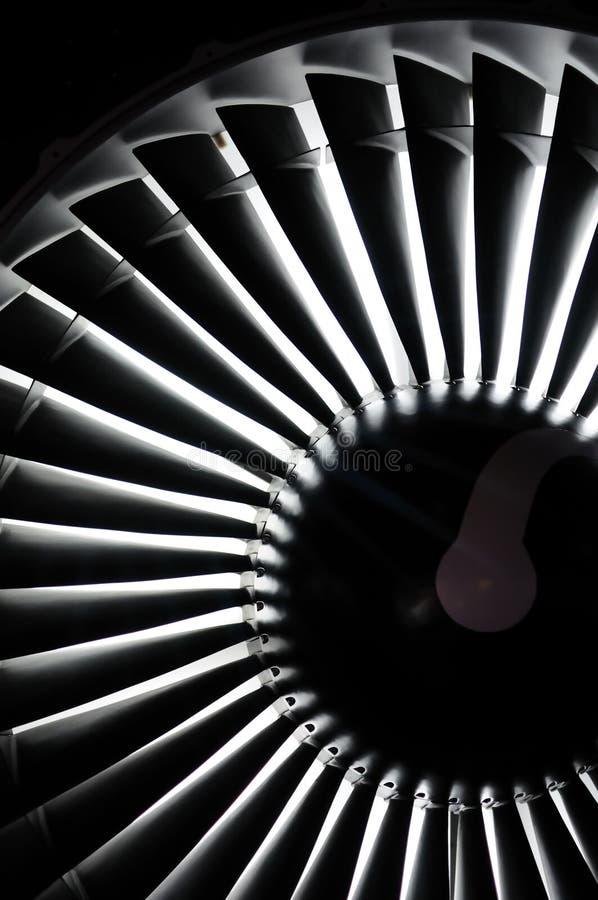 背景引擎喷气机 免版税库存图片