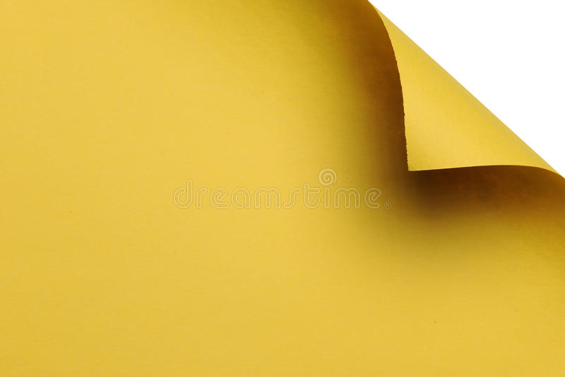 背景弯曲的壁角纸白色 图库摄影