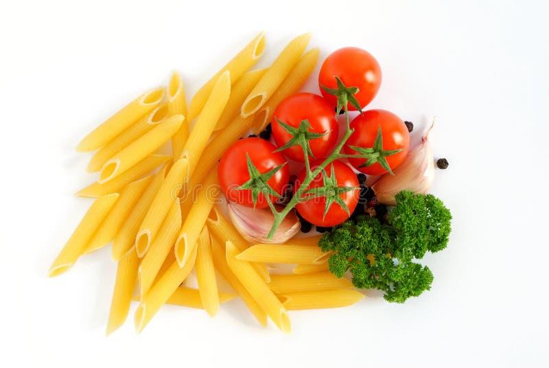 背景意大利人意大利面食 免版税库存图片