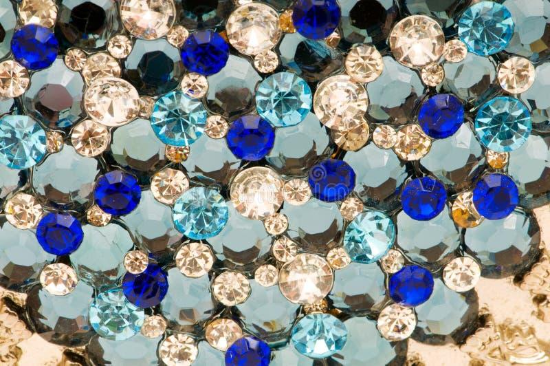 背景成串珠状五颜六色许多 免版税库存照片