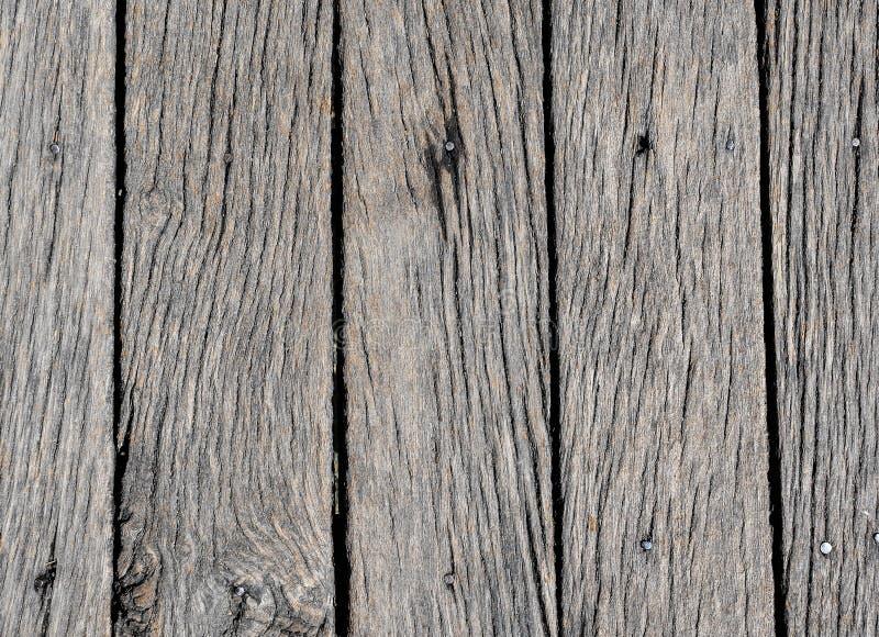 背景或大模型的老灰色木纹理 木头的接近的老纹理 免版税库存照片