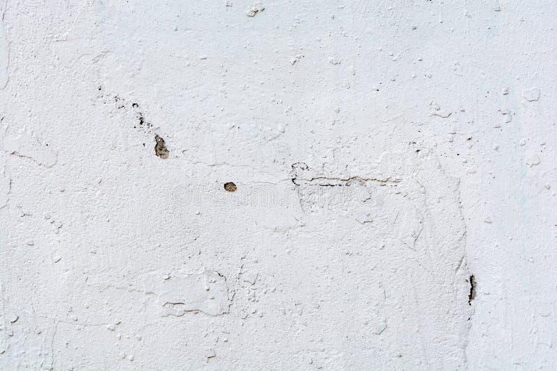 背景或纹理的白色墙壁 库存照片