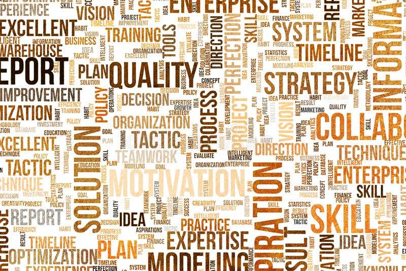背景或背景,形状样式,有益于设计纹理 措辞云彩、逻辑分析方法、技巧&战略 向量例证