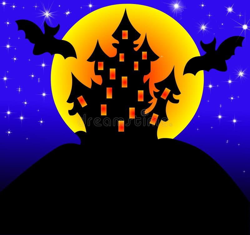 Download 背景房子月亮 库存例证. 插画 包括有 万圣节, 房子, 坟墓, 恐怖, 方式, 黑暗, 奥秘, 国内, 城堡 - 15695224